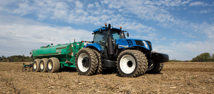NEW HOLLAND sistema INTELLISTEER ® CM93