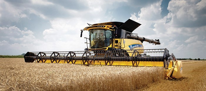 cosechadora New Holland CM93