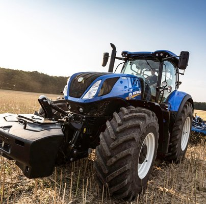New Holland T7 Heavy Duty, una prueba diferente