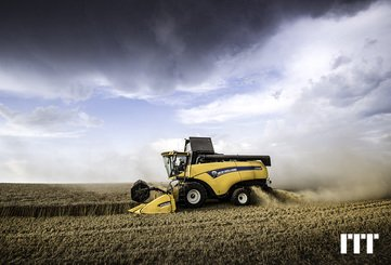 Cosechadoras New Holland CX 6.90 LATERALE - 1