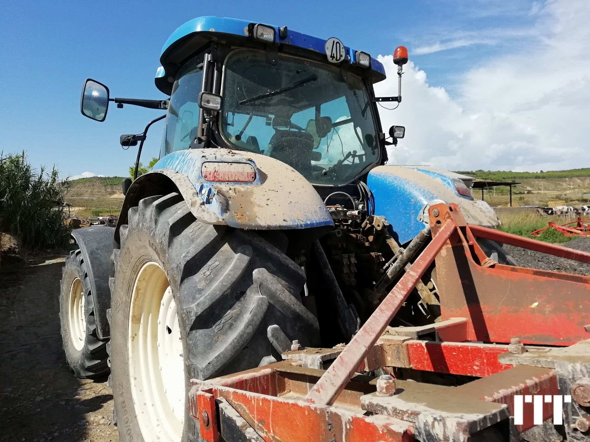 Tractor agricola New Holland T7040 - 1